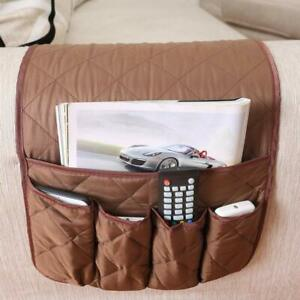Sofa Recliner Armrest Caddy 5 Pockets Organizer Armchair ...