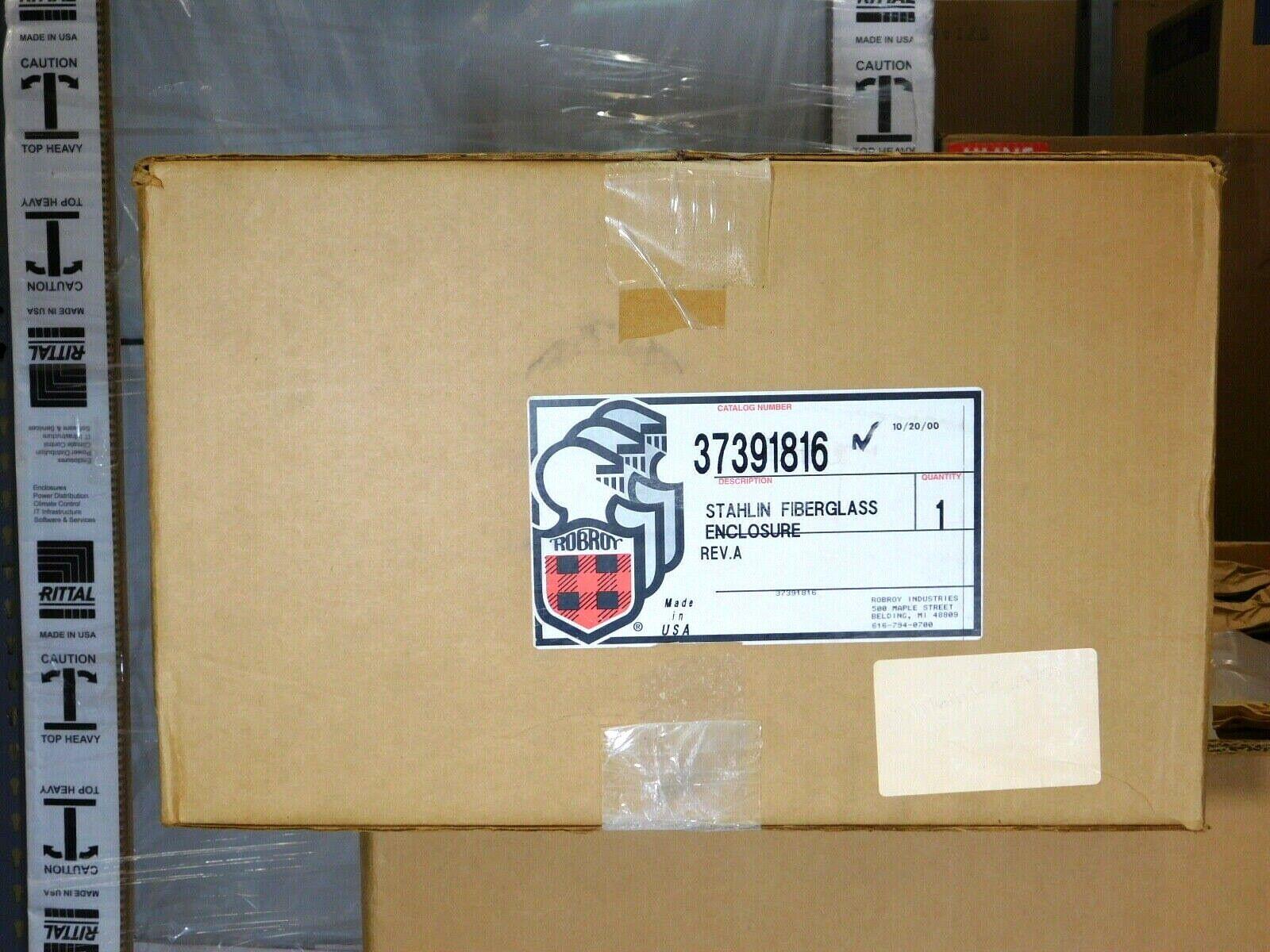 BRAND NEW - RobRoy 37391816 Stahlin Fibreglass Enclosure