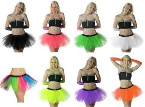 30x 3 LAYERS Tutu Skirt Women Lady Size Fancy Dress Skirts Hen Party