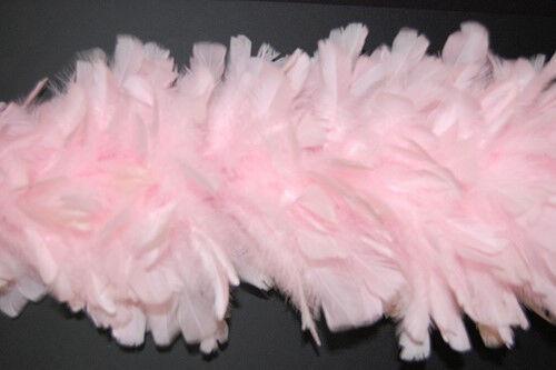 "LIGHT PINK 2 Yards 8-10/"" Feathers Costumes TURKEY BOA"