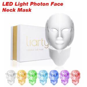 7-Colors-LED-Light-Photon-Face-Neck-Mask-Rejuvenation-Skin-Therapy-Skin-Wrinkles