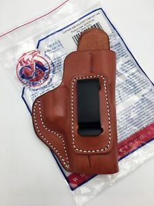 Details about Cebeci IWB Brown Leather Holster with Comfort Tab, fits GLOCK  19 / 23, Right RH