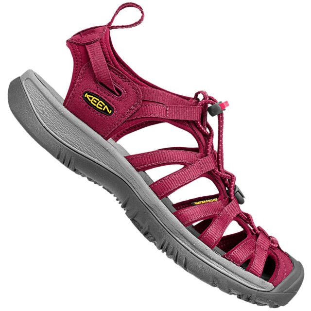8b34355bb51a KEEN Whisper Womens Comfortable Sandals 10 US or 27 Cm Beet Red ...