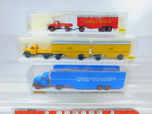 Ca145-0-5-3x-Brekina-1-87-h0-camion-Magirus-4257-4252-post-42600-ford-S-g-embalaje-original