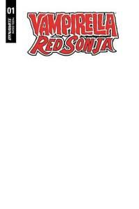100% De Qualité Red Sonja Vampirella #1 Blank Authentix-dynamite-l393-preorder 04.09.2019-afficher Le Titre D'origine