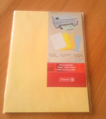 Brunnen 51250 Universalpapier A4 80 g 50 Blatt honig Inkjet Laser Kopier