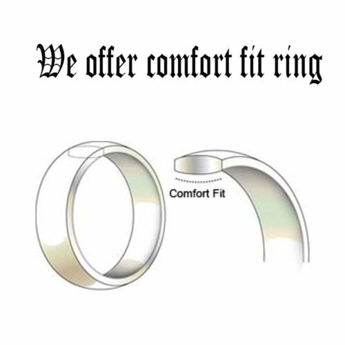 His and Her Beveled Edge Silver Dazzling Titanium Wedding Anniversary Ring Set