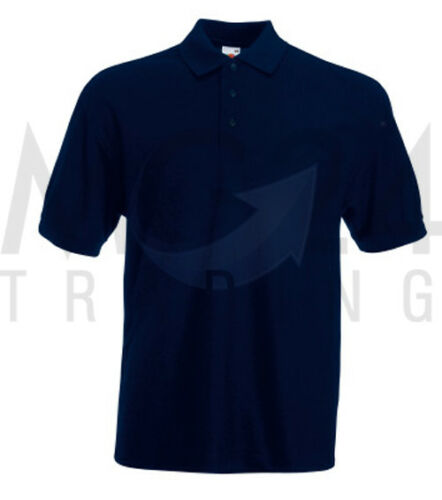 NEU 2017 Fruit of the Loom Piqué Polo Herren Poloshirt Polohemd S bis 3XL