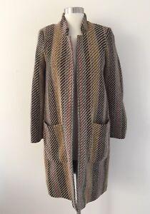 Colección Jacquard Zara Rayas Abrigo Abrigos Multi Trafaluc A Color I7YxnqA