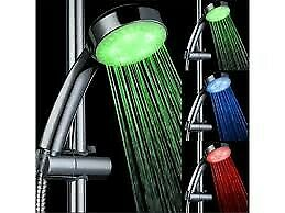 LED RGB Color Changing Shower Head