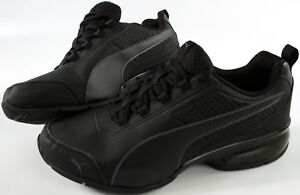 Details about PUMA Leader VT Buck Shoes 11.5 NEW All Black athletic Sneakers ArchTec sneaker