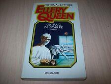 SFIDA AL LETTORE ELLERY QUEEN MONDADORI N.10-UN PAIO DI SCARPE-1985 BUONISSIMO!!
