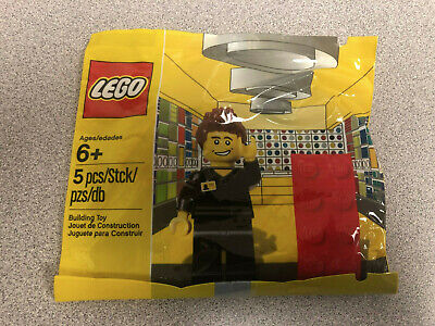 LEGO STORE EMPLOYEE 5001622 EXCLUSIVE POLYBAG MINIFIGURE SET NEW IN SEALED BAG