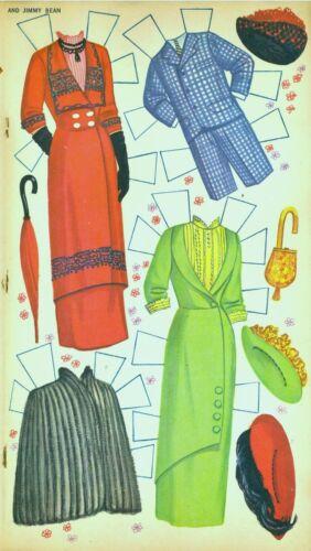 VINTGE UNCUT 1960 Pollyanna HAY Mills PAPER DOLL ~GOLDEN~ORG SZ~LASR REPRODUCTIO