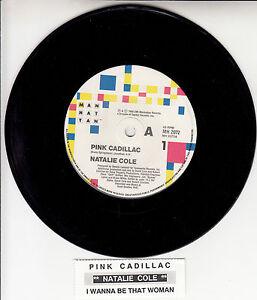 NATALIE-COLE-Pink-Cadillac-7-034-45-vinyl-record-juke-box-title-strip
