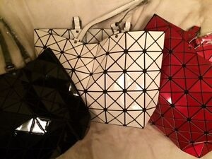 Image Is Loading Unusual Geometric Origami Tote Handbag Issey Miyake Style