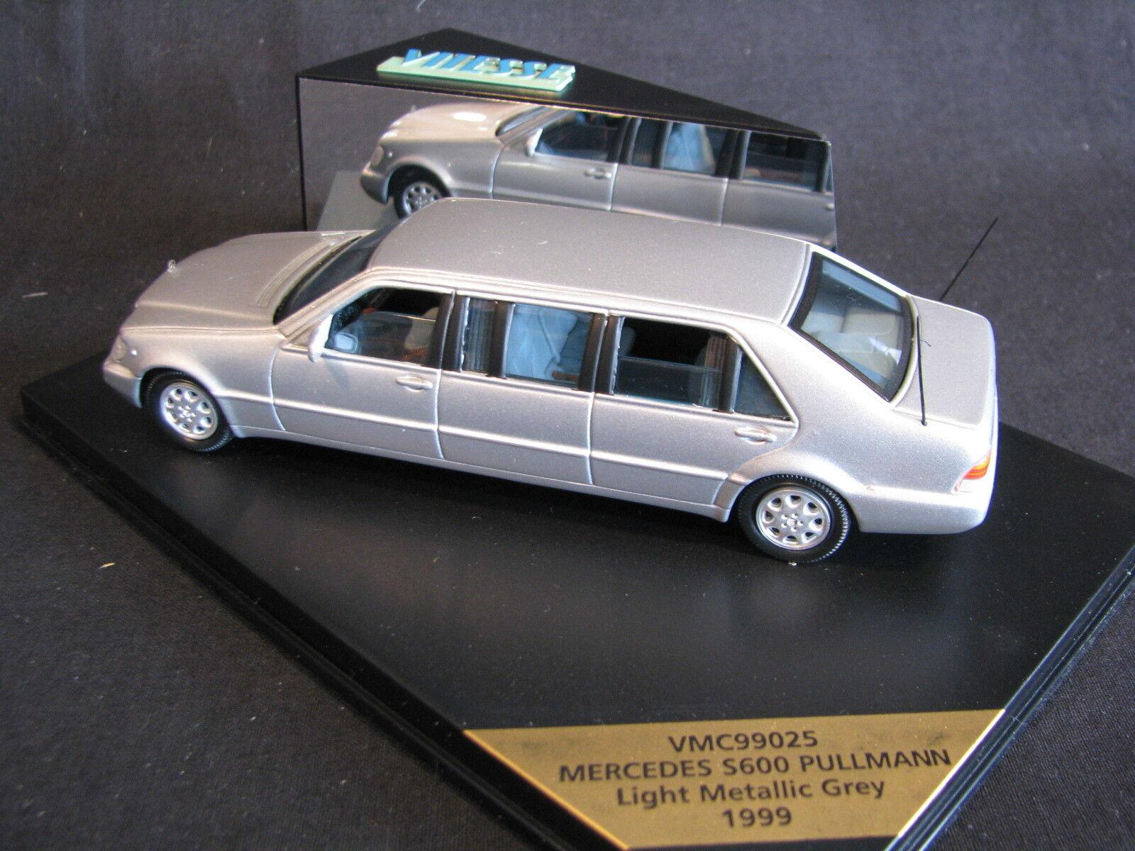 Vitesse Vitesse Vitesse Mercedes-Benz S 600 Pullman 1999 1 43 plata (JS) 43e2ba