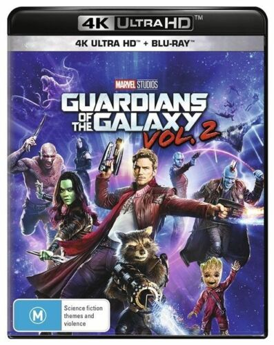 1 of 1 - Guardians Of The Galaxy : Vol 2 (Blu-ray, 2017, 2-Disc Set)