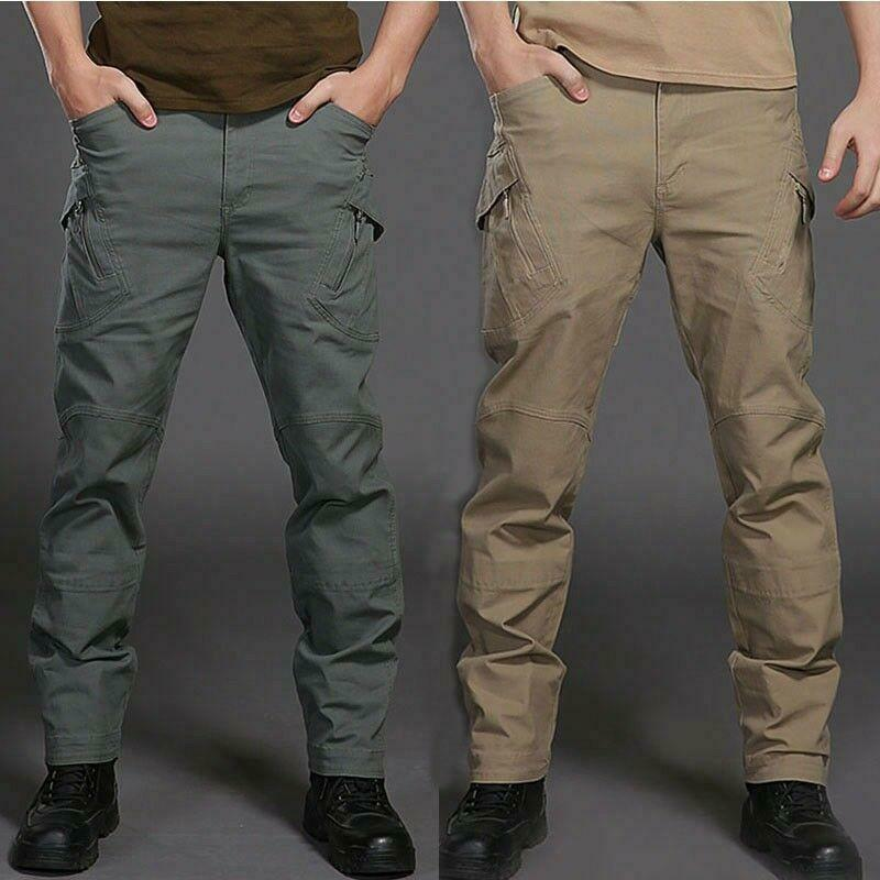 Tactical Mens Military Loose O lls  Pants Hiking Hunting Trousers Outdoor 2019  order online