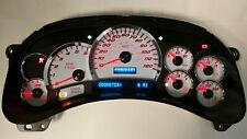 5d 05 06 2005 2006 Platinum Ss Chevy Gmc Truck Red Led Complete Ipc Speedometer