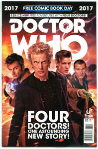 DOCTOR-WHO-NM-FCBD-10th-11th-12th-Drs-Tardis-2017-Titan-more-DW-in-store