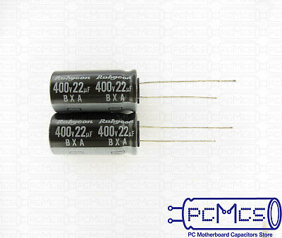 5pcs 22uF 400V Rubycon CFX 13x25mm 400V22uF High Ripple Long Life Capacitor