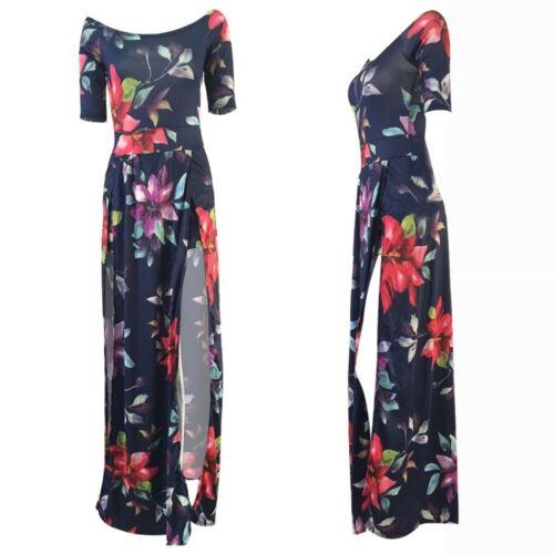 Women Plus Size Bodycon Clubwear Playsuit Dress Jumpsuit Romper Short Trousers