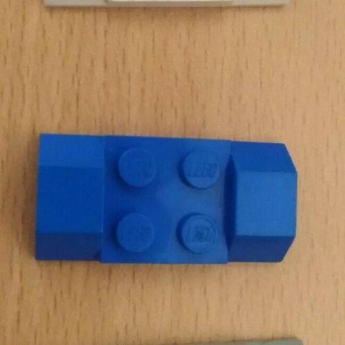 Bianco – Grigio Blu x 1 LEGO Parte 3787 PARAFANGO 2 x 4 LISCIO