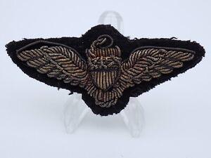 Original-WWII-US-Navy-Naval-Aviator-Pilot-Wings-Bullion-Patch