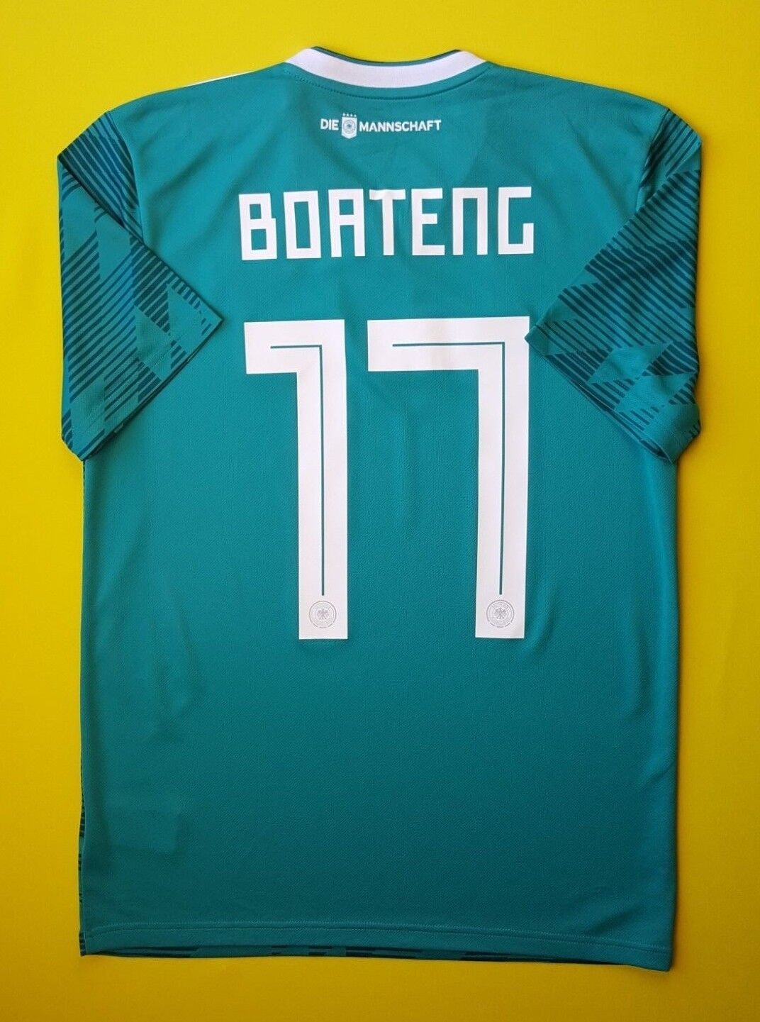 c6496c3e771 5+ 5 Boateng Germany soccer jersey 2018 away shirt BR3144 football Adidas