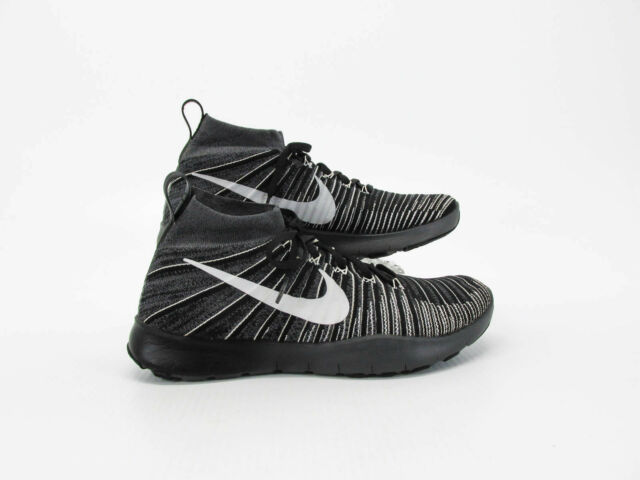 68a17d8badf6 Nike Free TR Force Flyknit Men Black Athletic Shoes Size 9.5M Pre Owned NQ