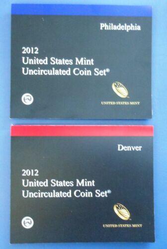 MINT SET...28 COINS...UNCIRCULATED...P /& D...BLISTER PACKS 2012 U.S