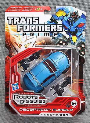 Hasbro TRANSFORMERS PRIME Decepticon Rumble Deluxe Class Figure