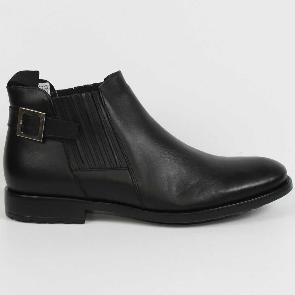 Conhpol messieurs messieurs Conhpol Bottes Boots Bottine Elegant Noir Neuf Cuir 41-44 d01327