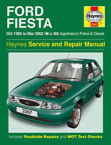 ford fiesta repair manual haynes manual workshop service manual 1995 rh ebay co uk ford fiesta 1996 service and repair manual ford fiesta 1997 manual