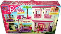 Barbie Mega Bloks Beach House Build 'n Style Playset 80226 Toy Blocks 129 Pc