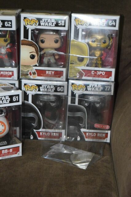 100 FUNKO POP PROTECTOR .40mm Thickness 4