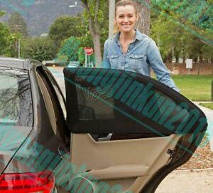 2x Anti Insect Mosquito Sunscreen Car Window Net Door Mesh Outdoor UV Protector
