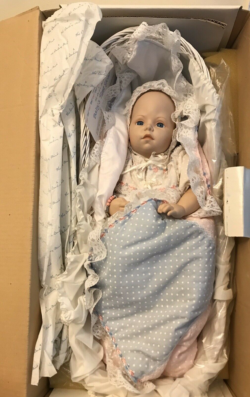 Danbury Mint Baby's First Year BUNDLE OF JOY Doll