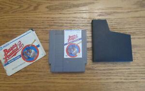BASES LOADED II 2nd Season Nintendo Game System NES HQ Case & Manual