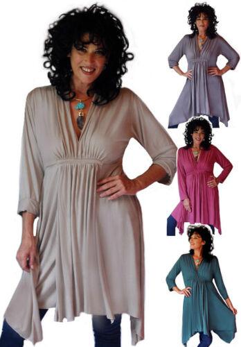 U 3x taille Jersey Blouse 6x Top Couleur Robe 4x XL Pick L 5x 1x Os Lagenlook et 2x rtxwRqrO