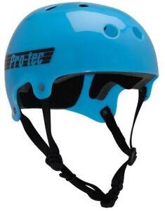 Protec Bucky Skate Helmet Translucent Blue Size Extra Large Skate Scooter Pro-Te