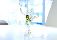 Swarovski Crystal Disney Tinker Bell Green Fairy Wings 1073747 Brand New in Box