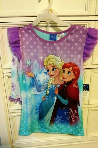 Disney Frozen Elsa /& Anna 2 Piece Shorts Pajamas Set Size Large New with Tags