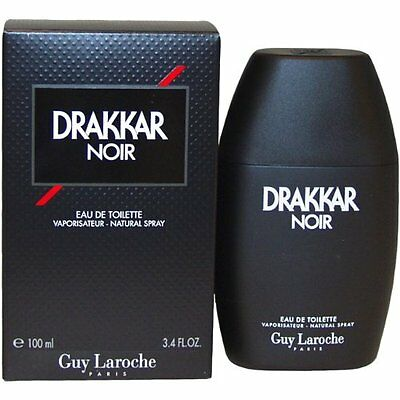 Drakkar Noir by Guy Laroche 3.4 oz EDT Cologne for Men New In Box