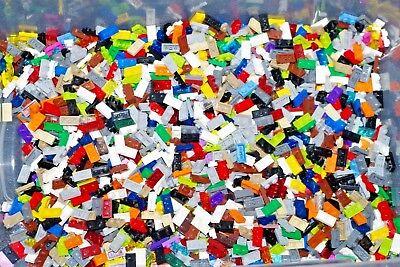 Genuine LEGO Bulk 50 Random Colors 1 x 10 4477 1x12 Plates Flats Huge Lot STEM