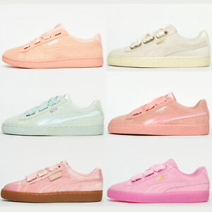 PUMA SUEDE CLASSIC Womens Girls Retro Fashion Heritage Trainers