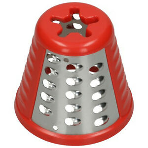 Moulinex-Authentique-Fresh-express-hachoir-rouge-grille-Cone-Attachment