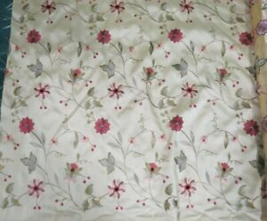 Vintage-Gold-Color-Floral-Upholstery-Fabric-Home-Decor-3-5-Yds-54-034-W