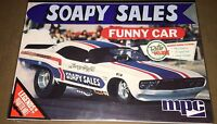 Mpc Soapy Sales Dodge Challenger Funny Car 1/25 Scale Model Kit 831 X